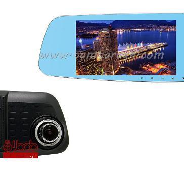 آینه ال سی دی DVR با نمایشگر 4/3 اینچ و کیفیت 720p