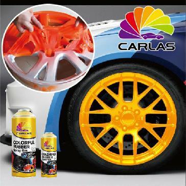 اسپری رنگ پلاستیک (کربن مات) مارک کارلاس CARLAS