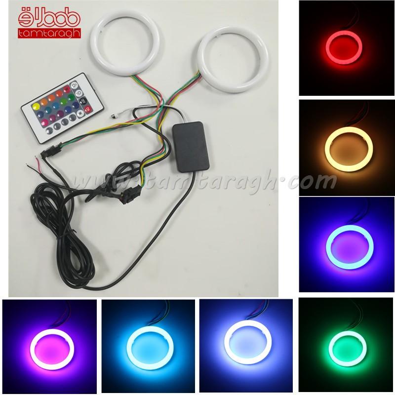دی لایت حلقه ای داخل کاسه چراغ RGB با ریموت کنترل