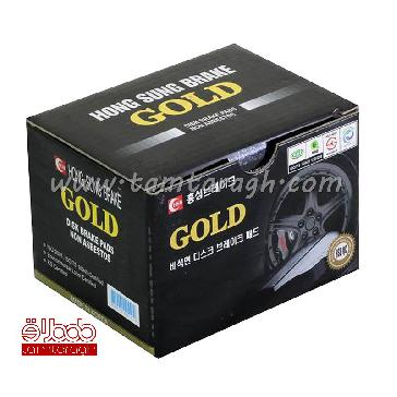 لنت ترمز جلو سراتو قدیم برند گلد GOLD اصل کره
