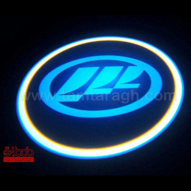لوگو زیر درب (ولکام لایت) انواع خودرو - 7 وات