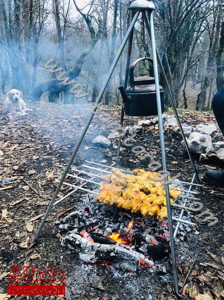 کباب پز چند کاره در دو سایز بزرگ و کوچک با قابلیت