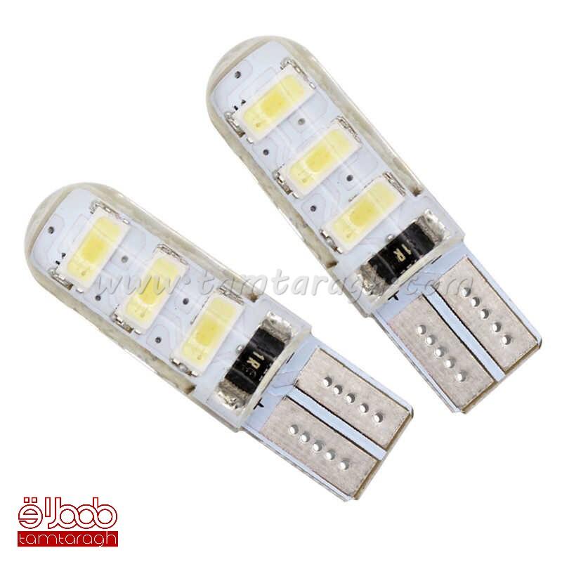 لامپ سکن سیلیکونی (ژلهای) SMD6 مدل 01