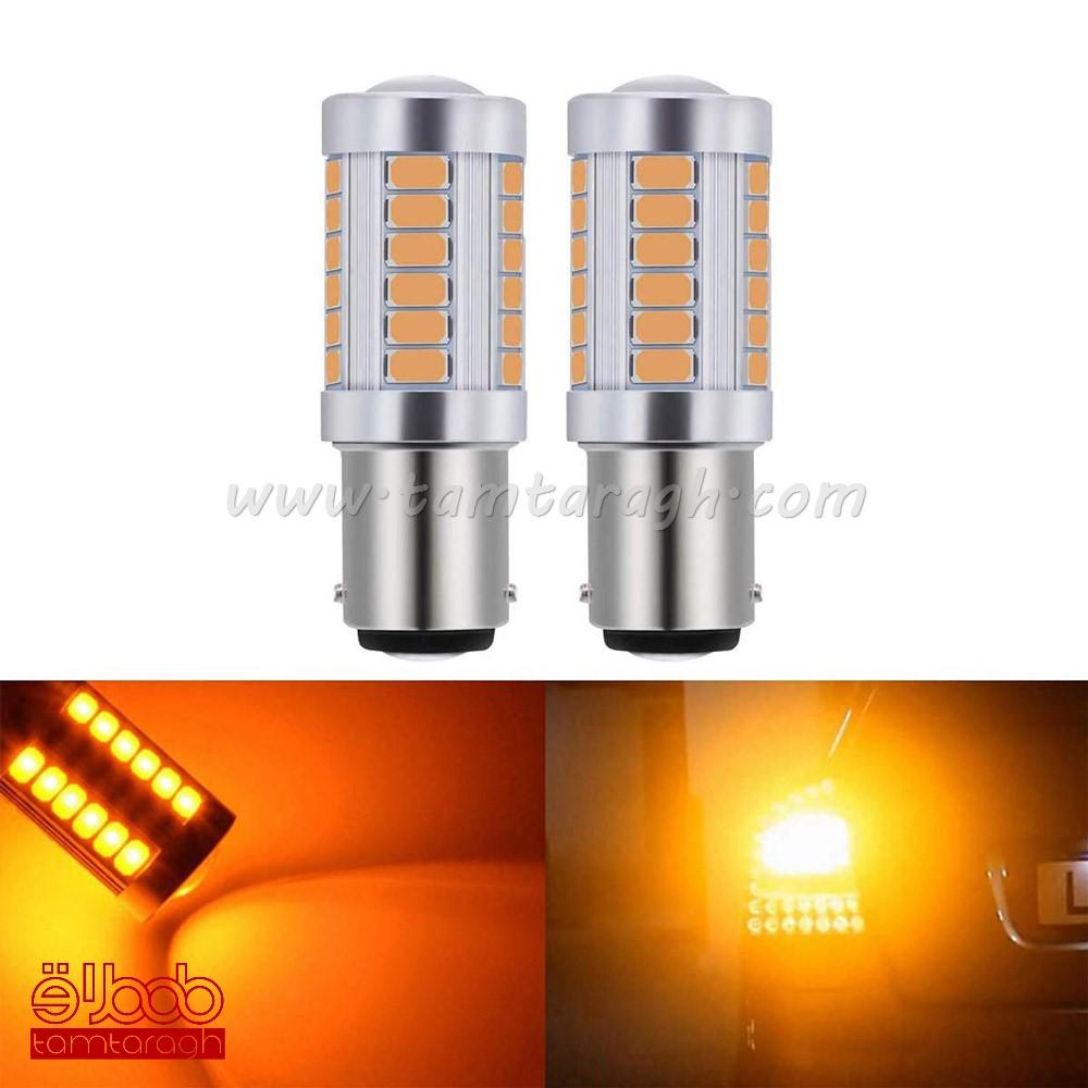 لامپ فندقی LED تک کنتاکت لنز دار 33SMD
