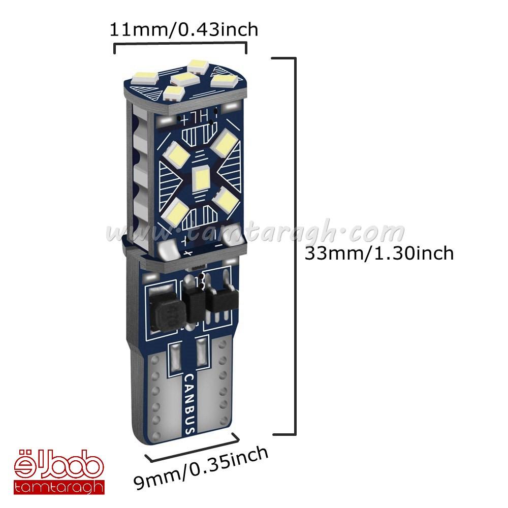 لامپ سکن کن باس دار SMD15