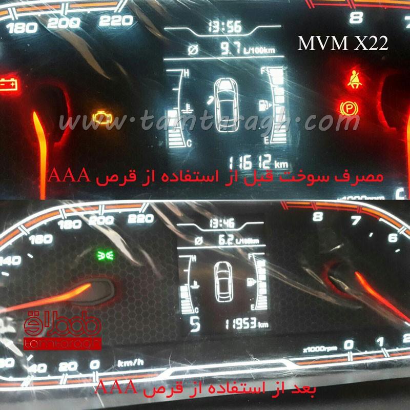 قرص کاهش مصرف سوخت تریپل ای AAA برای موتورهای زیر