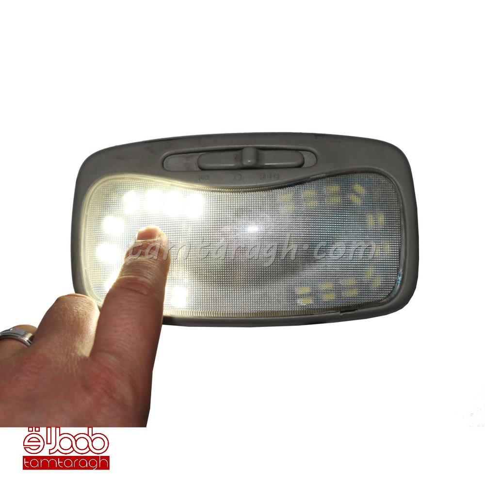 لامپ سقفی لمسی خودرو آی لِد مدل CT077 مناسب برای ریو تیبا و ساینا